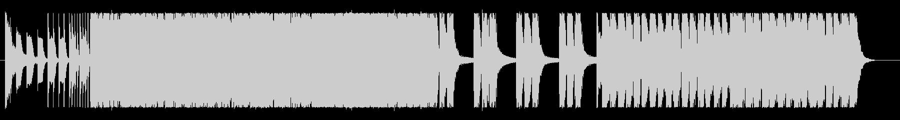 パイプオルガンが印象的なロックインストの未再生の波形
