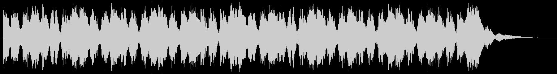 オーケストラによるループ曲。ゲームなどの未再生の波形