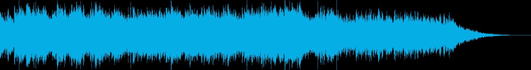 おだやかキラキラ/ジングルの再生済みの波形