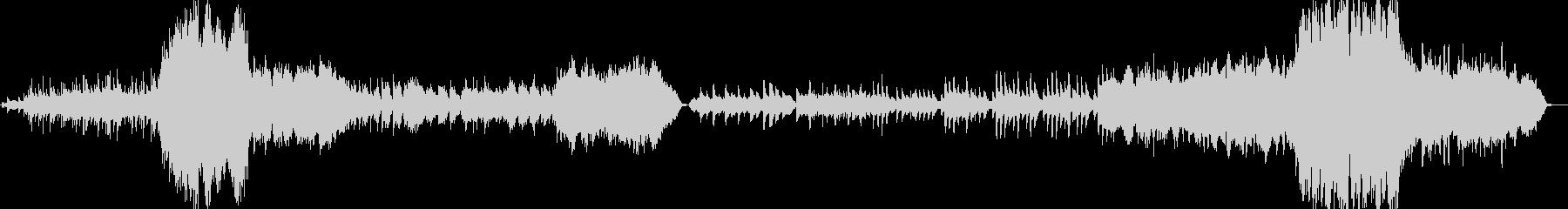 幻想的で壮大なクワイア付きオーケストラの未再生の波形