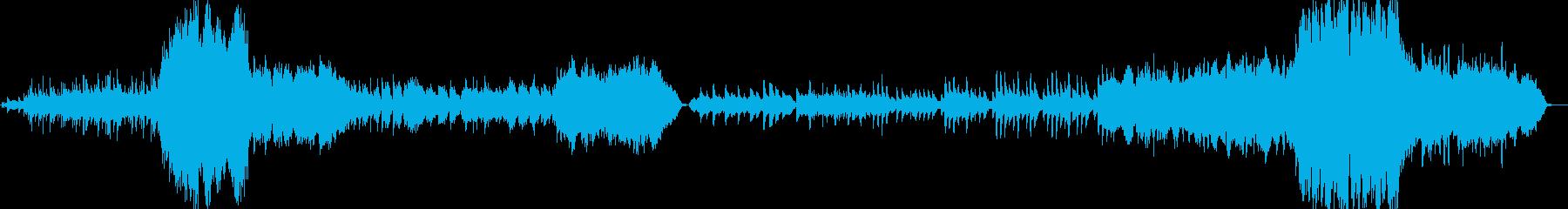 幻想的で壮大なクワイア付きオーケストラの再生済みの波形