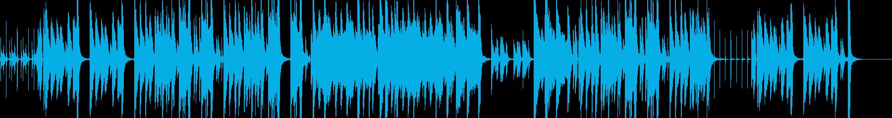 悪戯っぽい・ほのぼの日常なアニメBGM風の再生済みの波形