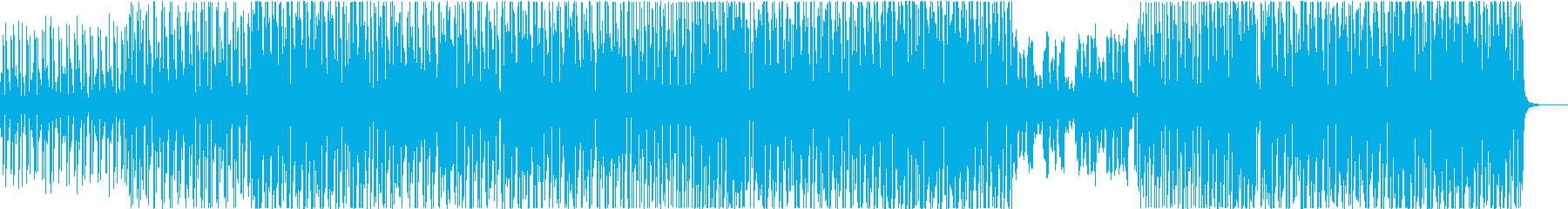 お洒落で大人な雰囲気のトロピカルハウスの再生済みの波形
