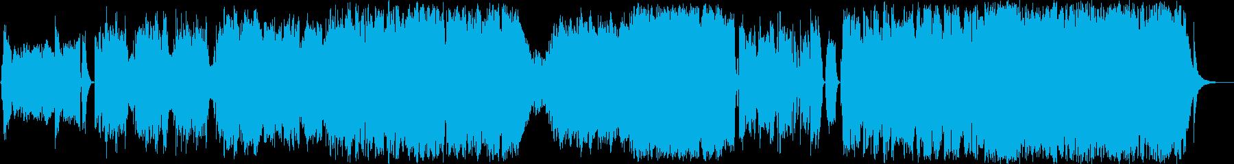 孤独で切ないオーケストラバラードの再生済みの波形