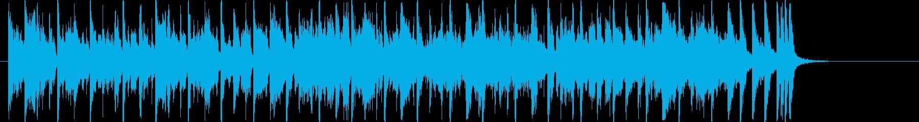 <30秒> 歌入り レトロ元気なBGM①の再生済みの波形