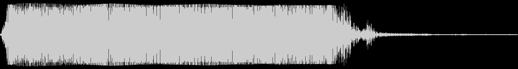 ギターメタルパワーコードzn wの未再生の波形