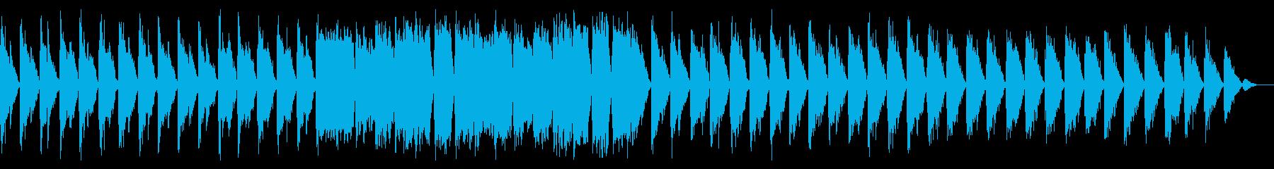 希望や未来・神秘的でドラマチックな楽曲の再生済みの波形