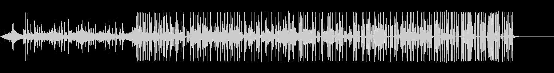 細々した音使いが特徴的なエレクトロニカの未再生の波形
