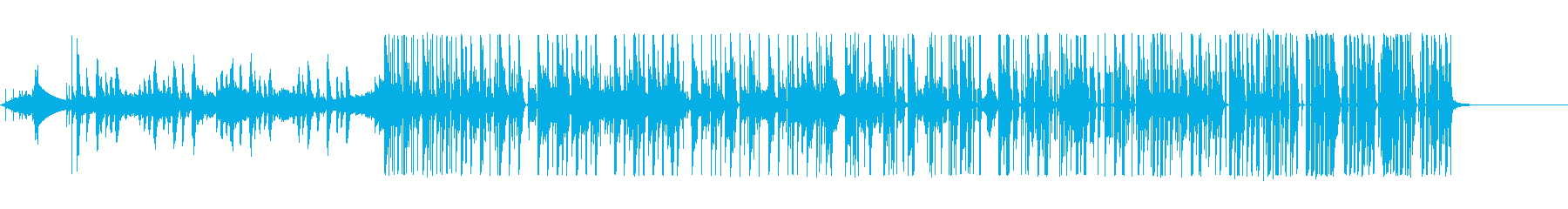 細々した音使いが特徴的なエレクトロニカの再生済みの波形