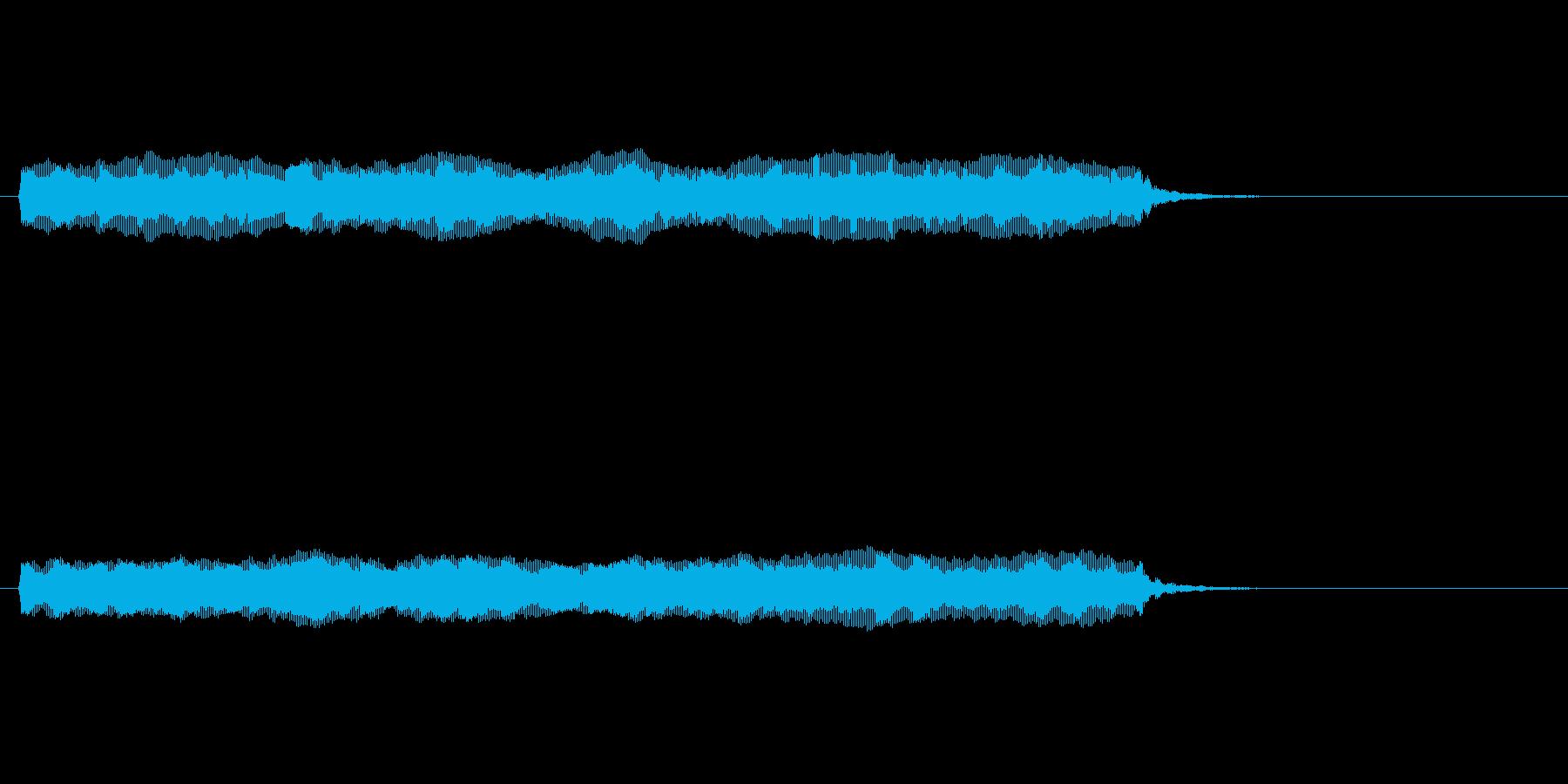 【開演ブザー01-3】の再生済みの波形