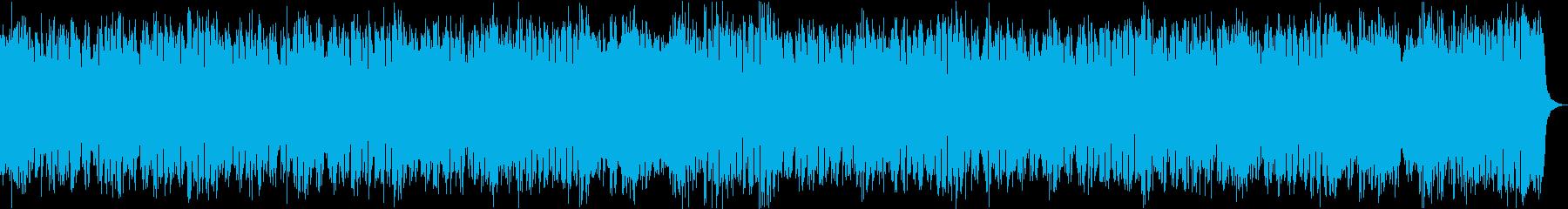 コマーシャルゴージャス派手ブラスロックaの再生済みの波形