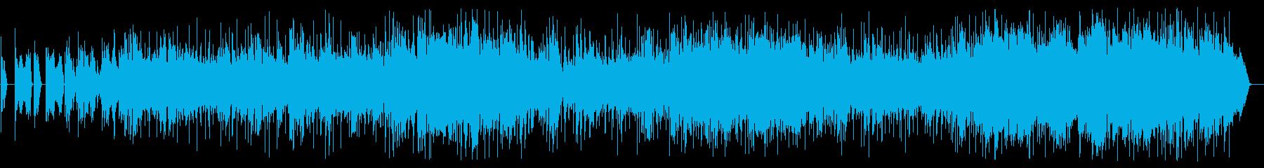 SAXエレピが切なく響くスローグルーブの再生済みの波形