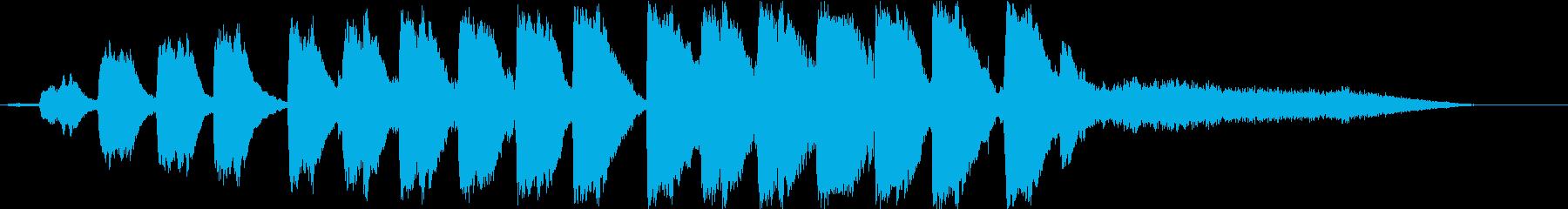 soonの再生済みの波形