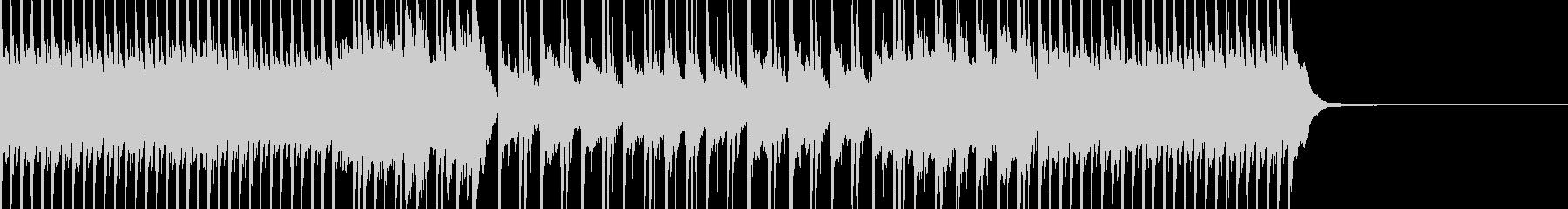 線香花火をイメージした切ないギターポップの未再生の波形