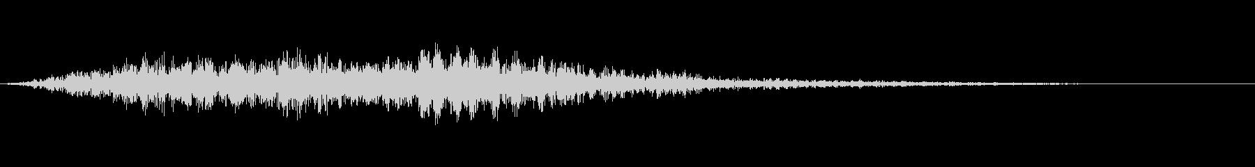 ヘビーグラインドパス1の未再生の波形