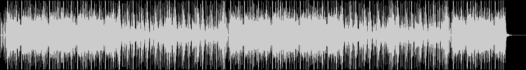 和楽器を使ったおしゃれヒップホップBGMの未再生の波形