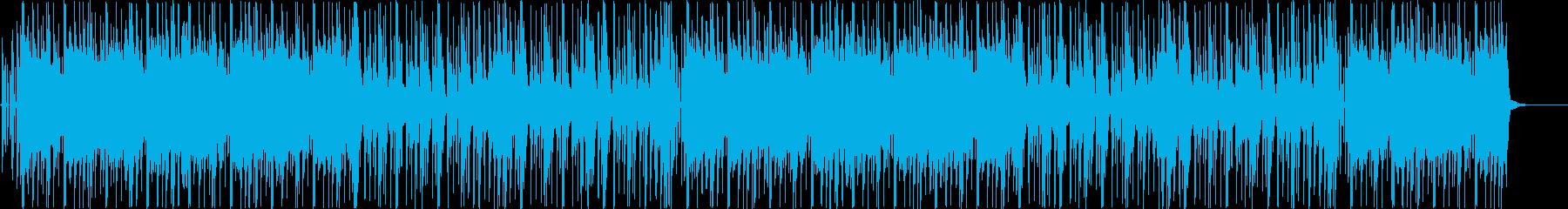 和楽器を使ったおしゃれヒップホップBGMの再生済みの波形