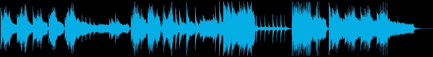 ピアノ_ひんやり_火曜サスペンスの再生済みの波形