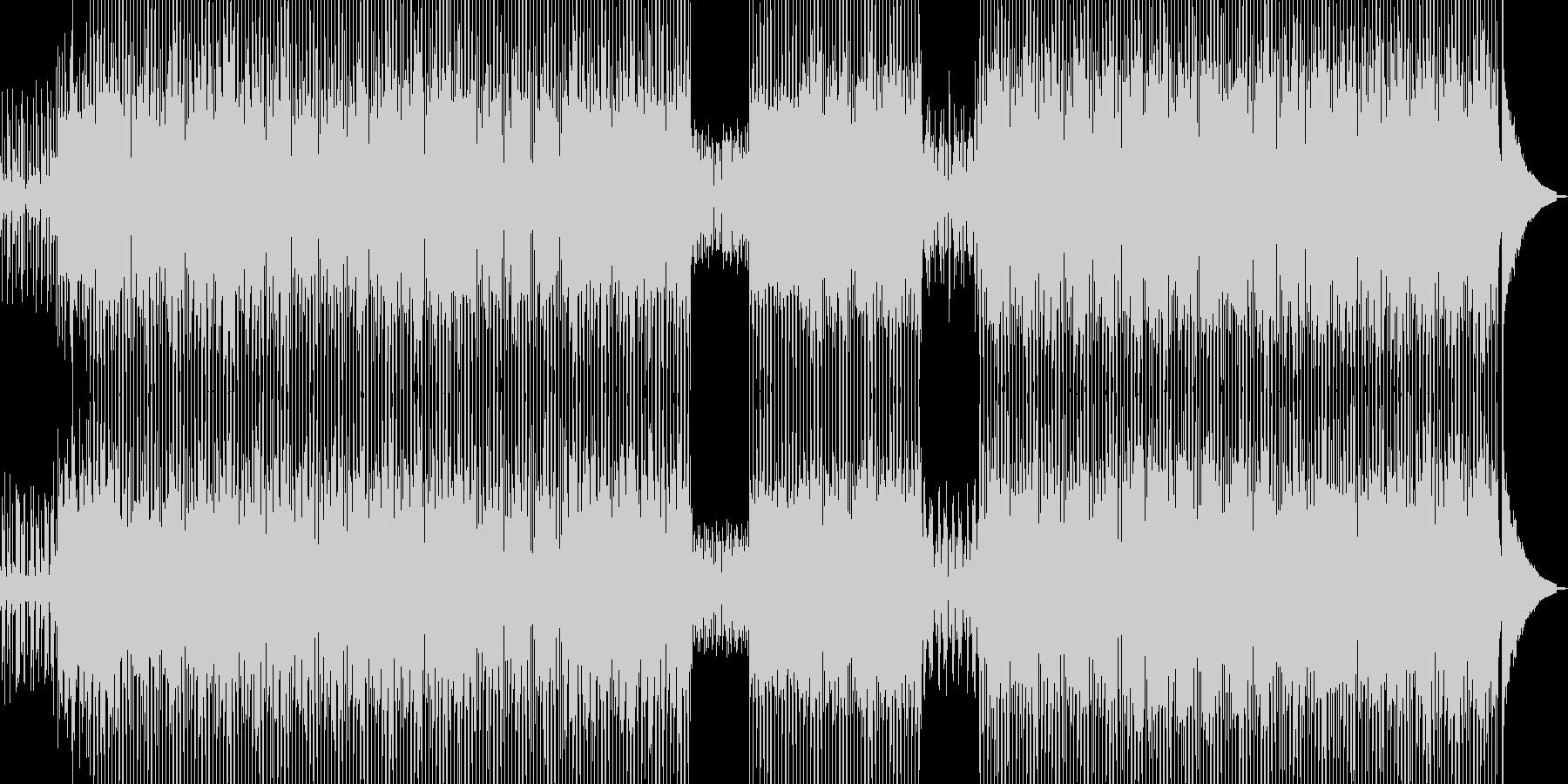 和カフェをイメージしたテクノ C★の未再生の波形