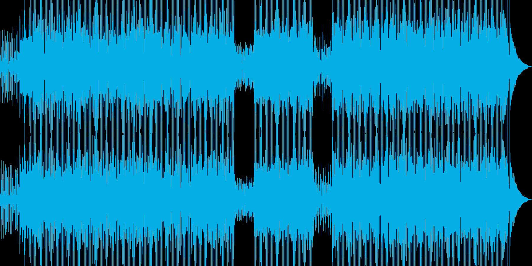 和カフェをイメージしたテクノ C★の再生済みの波形