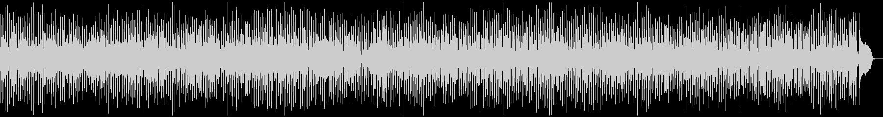 ビッグバンド風ジャズBGMの未再生の波形