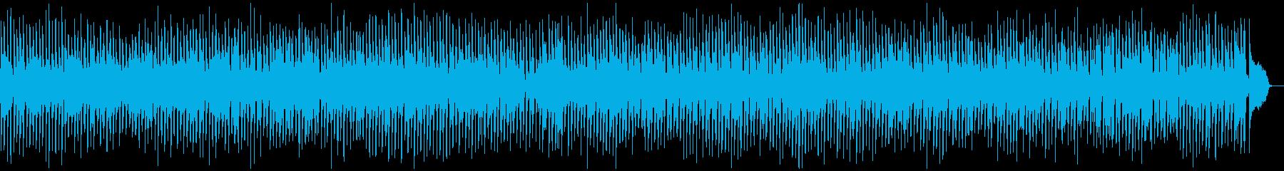 ビッグバンド風ジャズBGMの再生済みの波形