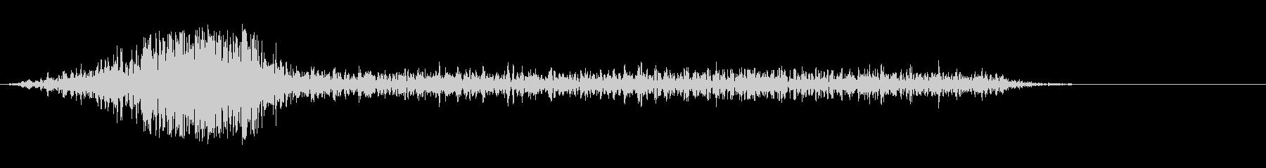 シューッという音EC07_88_3 2の未再生の波形