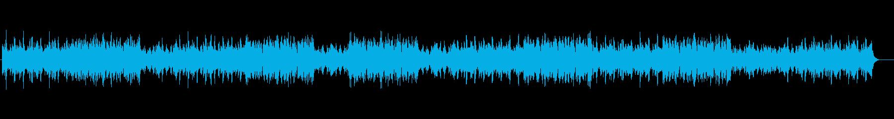 明るい雰囲気のストリングスポップの再生済みの波形