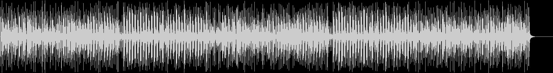 ハイホーを陽気なジプシージャズにの未再生の波形