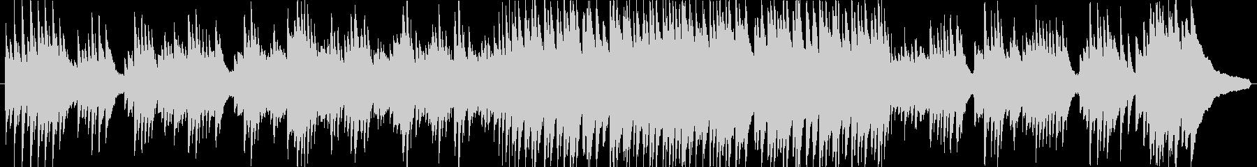 ピアノのインスト。スローテンポ。の未再生の波形