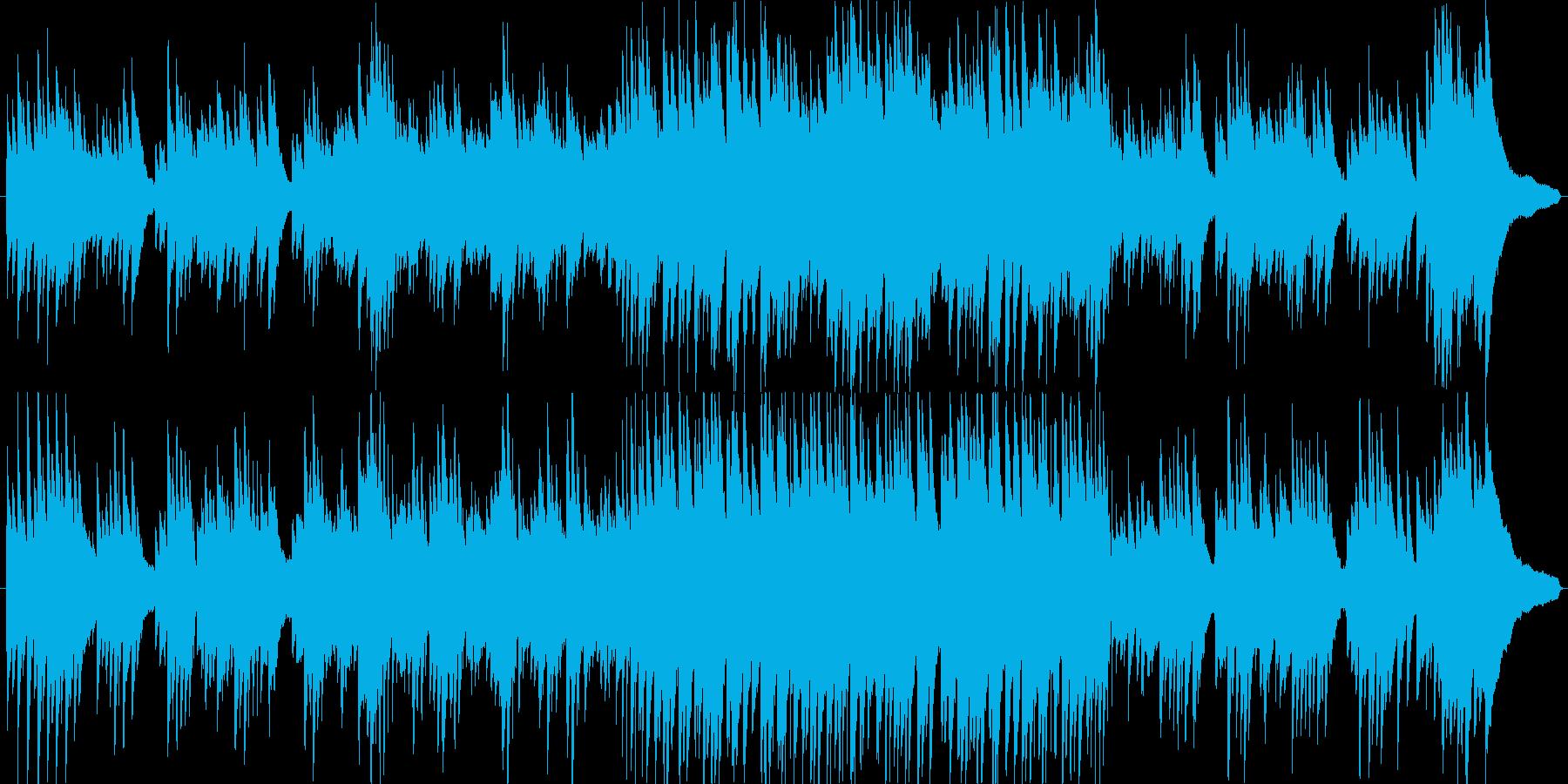 ピアノのインスト。スローテンポ。の再生済みの波形