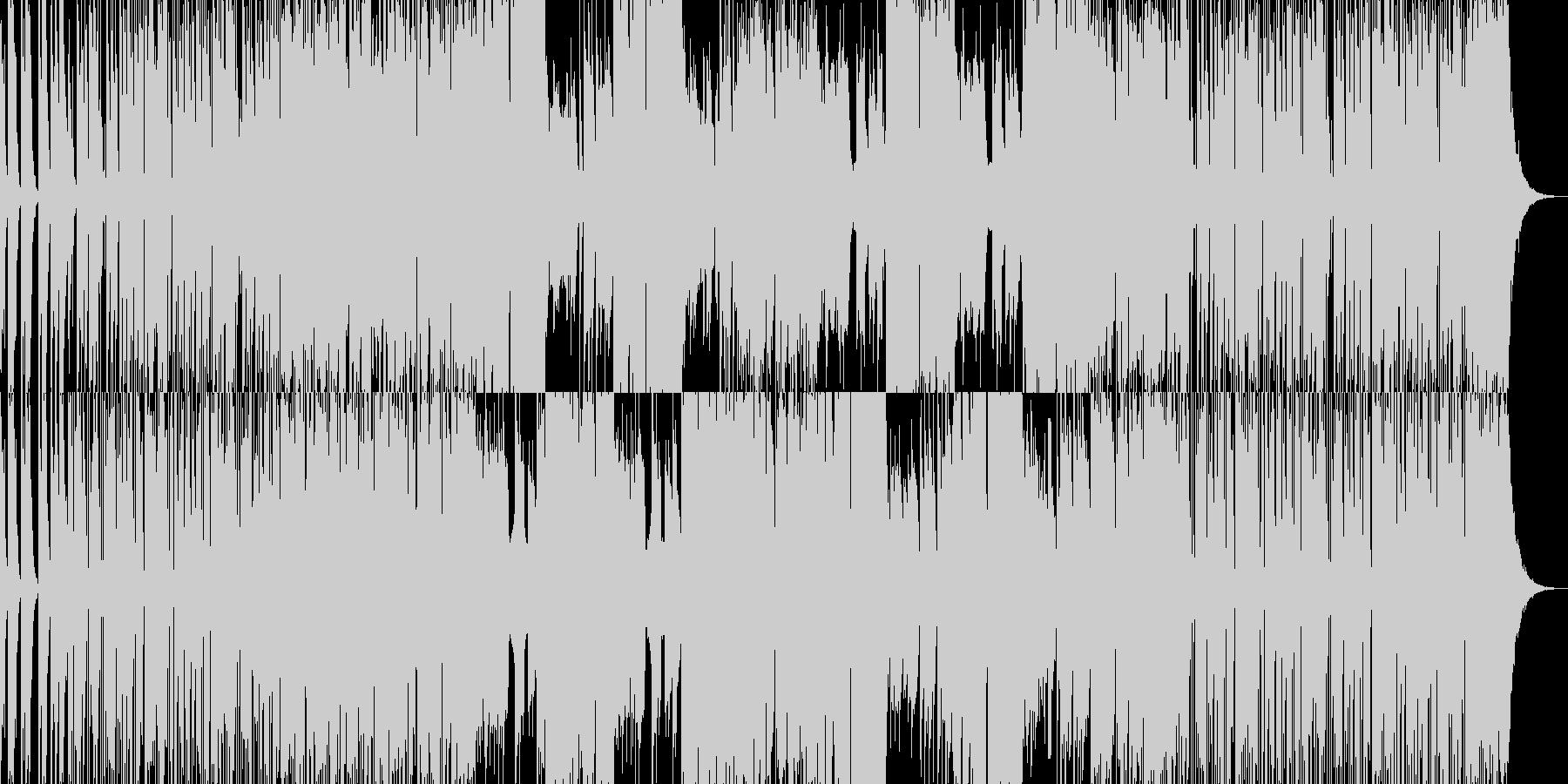 激しいEギタージングル01:30CM用の未再生の波形