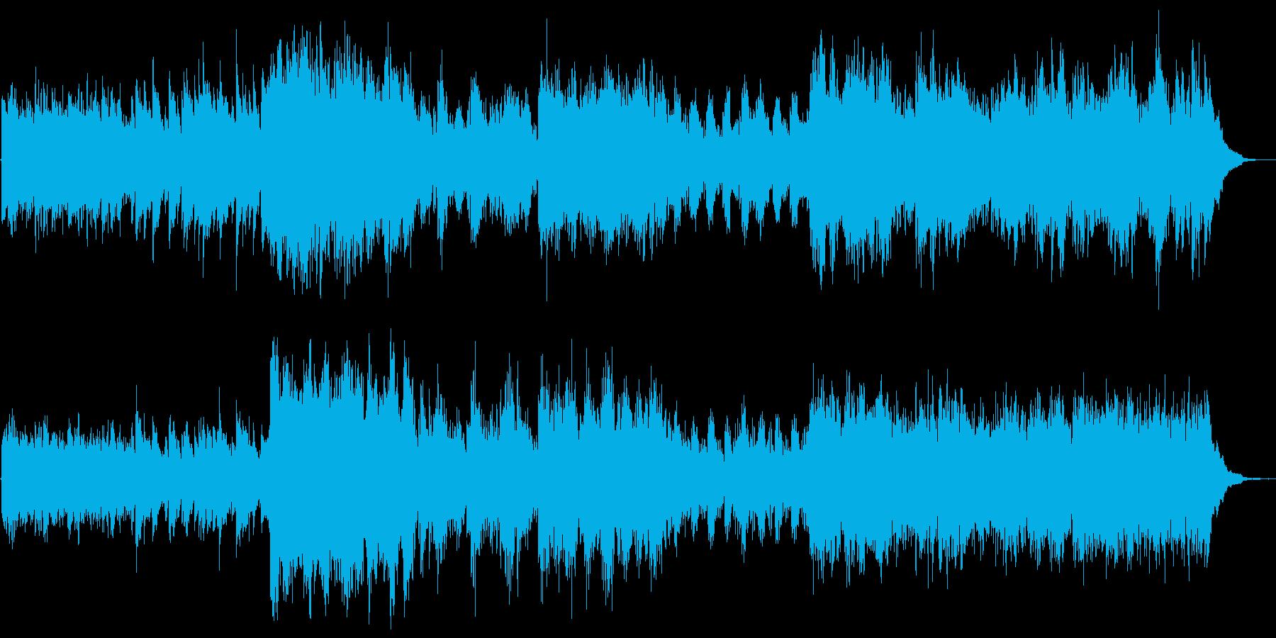 ピアノとストリングスのやさしい感じの再生済みの波形