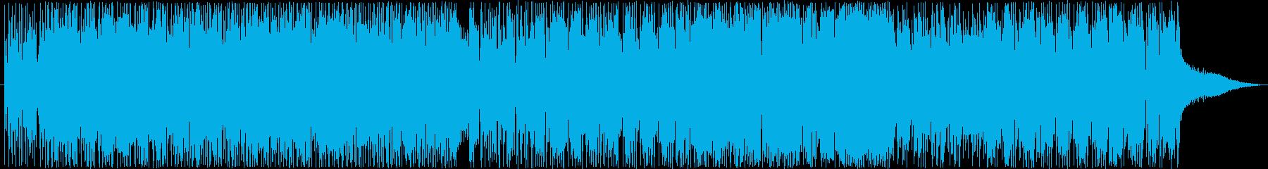 重厚かつ疾走感あるロック好きエレクトロBの再生済みの波形