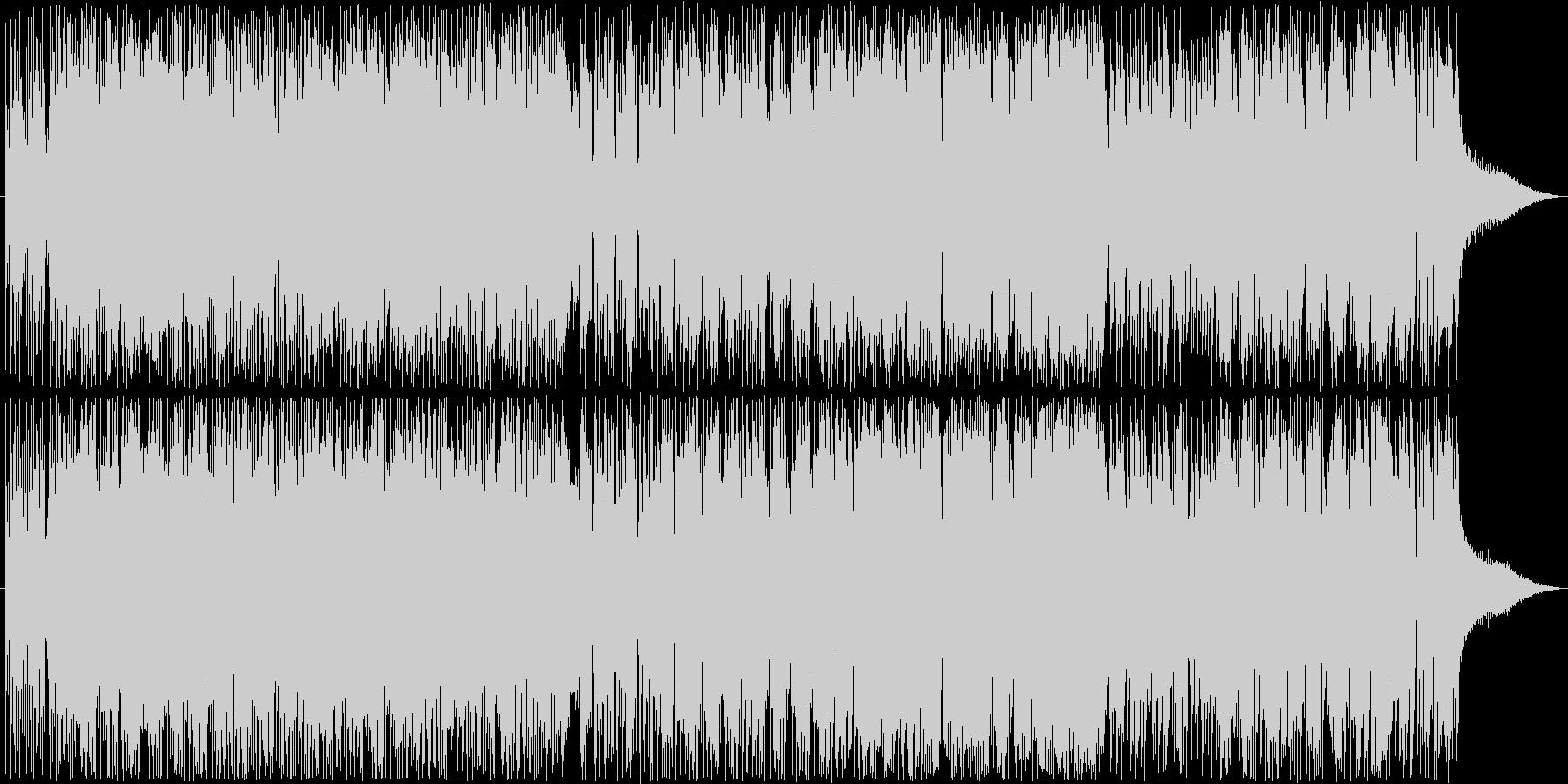 重厚かつ疾走感あるロック好きエレクトロBの未再生の波形