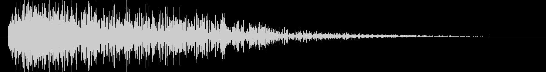 バキュドーンの未再生の波形