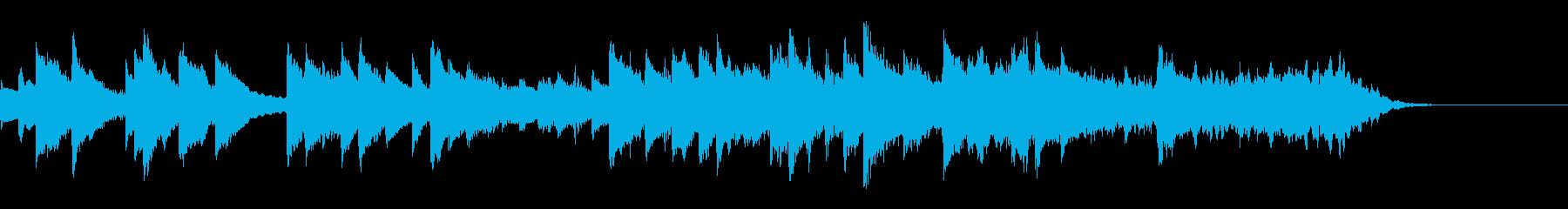 冬イベントに合いそうな短い曲の再生済みの波形