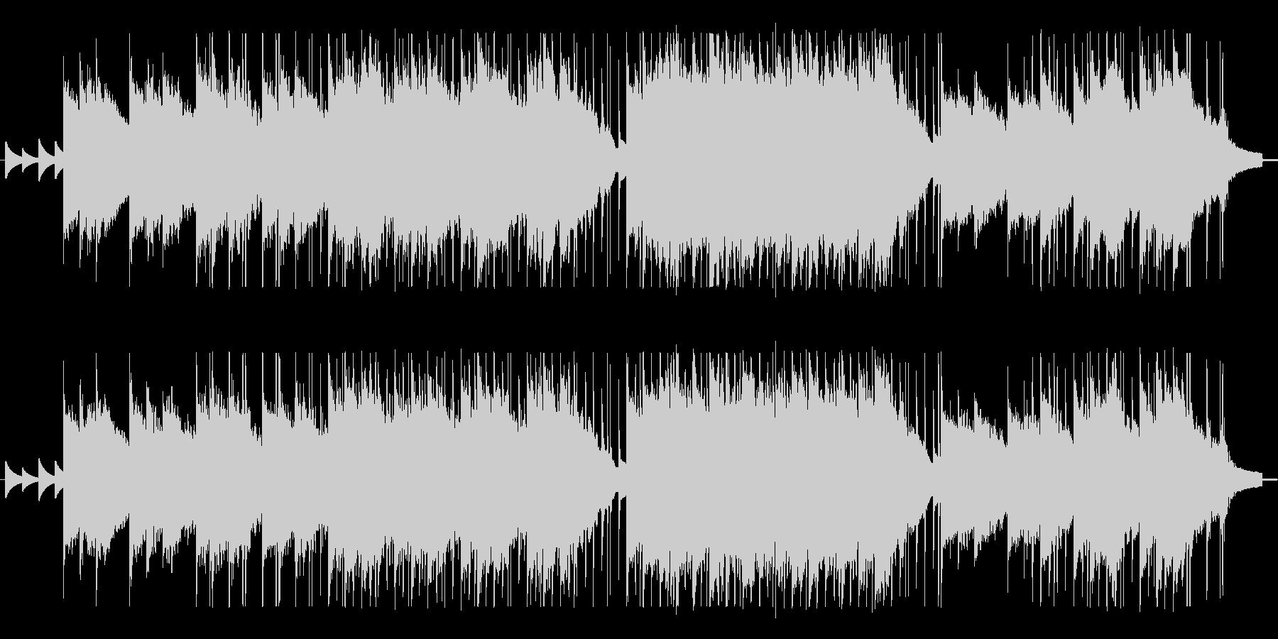 バラード系のエレクトリックピアノBGMの未再生の波形