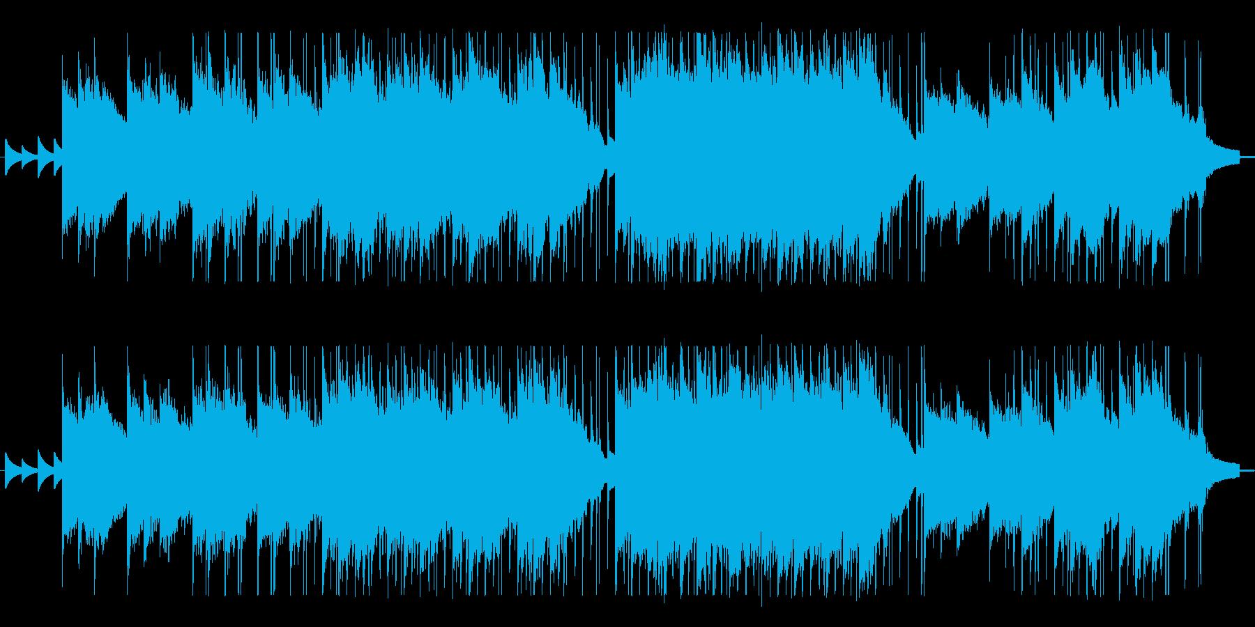 バラード系のエレクトリックピアノBGMの再生済みの波形