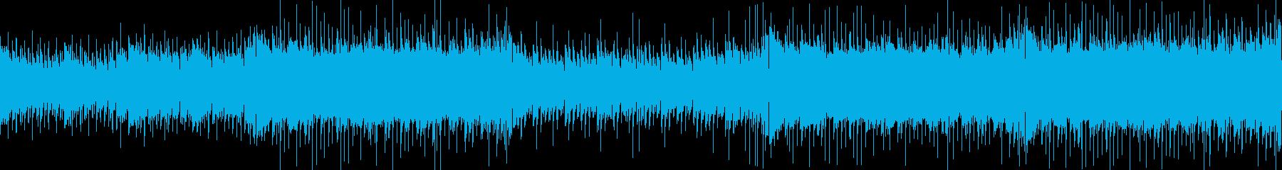 夏のイベントにほのぼのアコギBGMの再生済みの波形