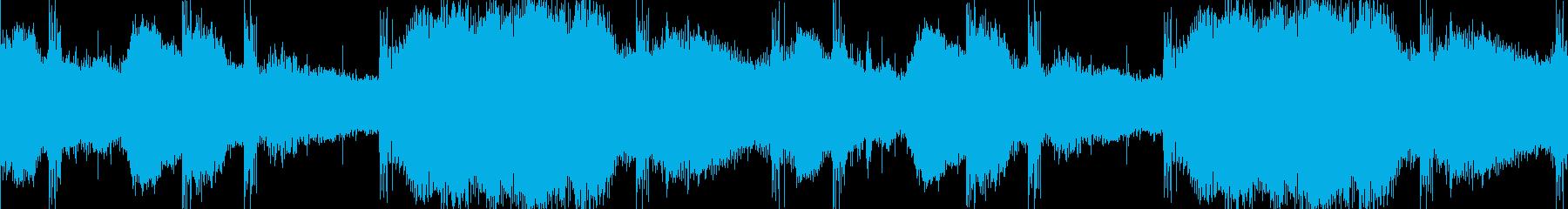 どこか怖い、謎めいたサスペンスサウンドの再生済みの波形