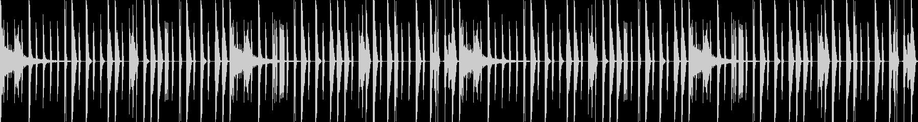 US Urban トラップドラムの未再生の波形