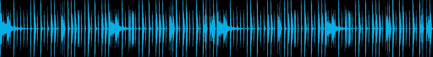 US Urban トラップドラムの再生済みの波形