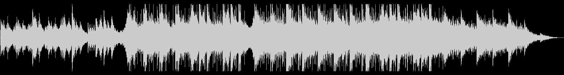 ピアノがキラキラ綺麗なBGM11の未再生の波形