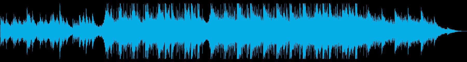 ピアノがキラキラ綺麗なBGM11の再生済みの波形