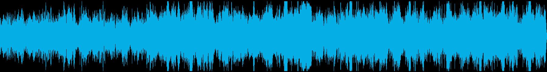ファンタジー村BGMの再生済みの波形