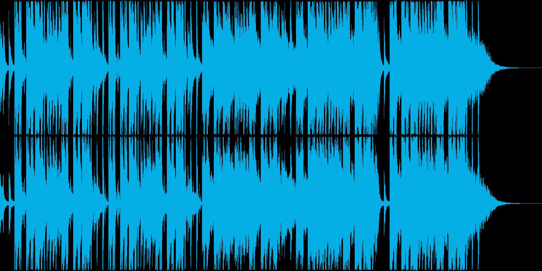トロピカルなEDM風の曲、映像やCM等にの再生済みの波形