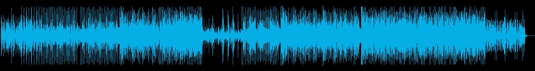 生バイオリンのおしゃれで大人なBGMの再生済みの波形