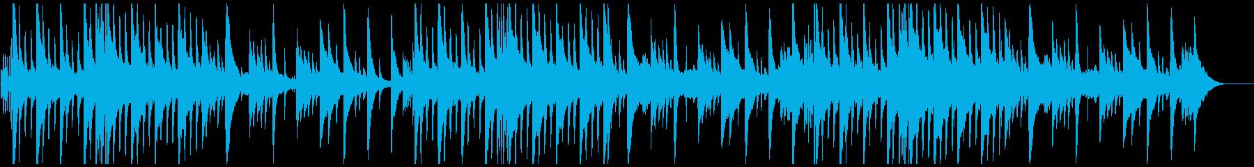 不安を煽るピアノとギター(ループ可)の再生済みの波形