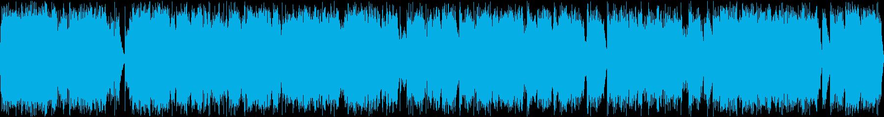 破壊された電気火炎アークバースト電...の再生済みの波形